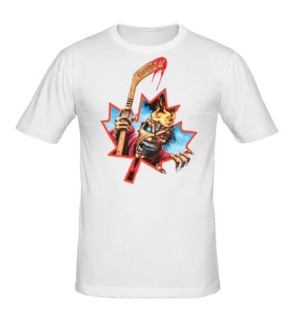 Мужская футболка Iron Maiden: Canadian