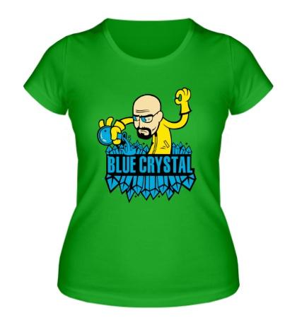 Женская футболка Blue crystal meth
