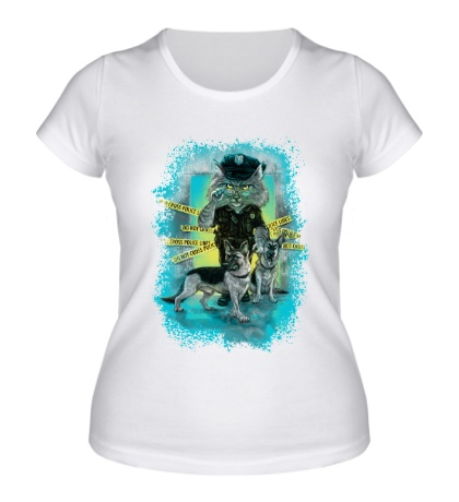 Женская футболка Super Сat K-9 Patrol