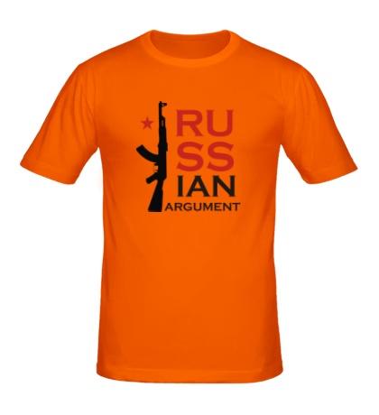 Мужская футболка Russian argument