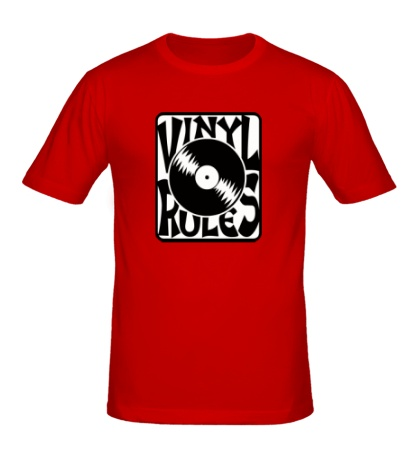 Мужская футболка Vinil Rules
