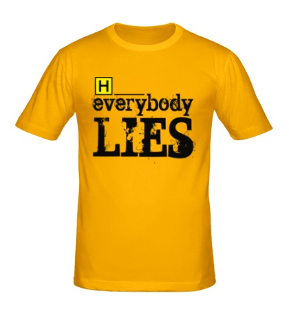 Мужская футболка Everybody Lies