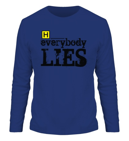 Мужской лонгслив Everybody Lies