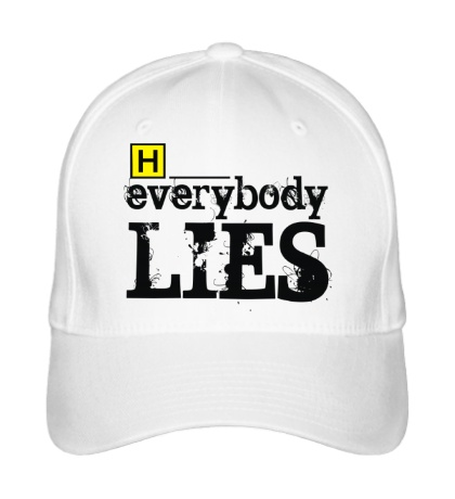 Бейсболка Everybody Lies