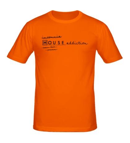 Мужская футболка House MD: Addiction