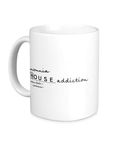 Керамическая кружка House MD: Addiction