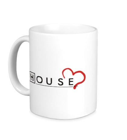 Керамическая кружка House MD: Love