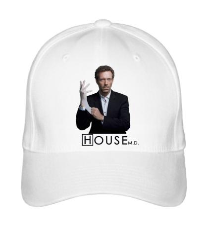 Бейсболка House MD in gloves