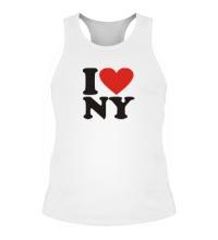 Мужская борцовка I love NY