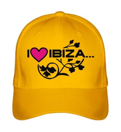 Бейсболка I Love Ibiza