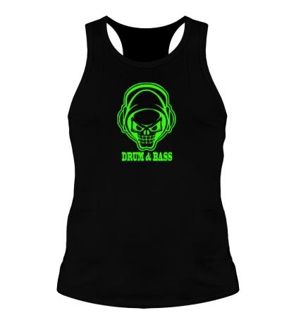 Мужская борцовка Drum & Bass Skull Glow
