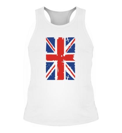 Мужская борцовка Британский флаг
