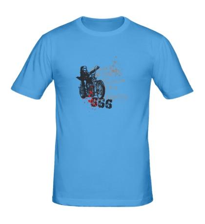 Мужская футболка Biker