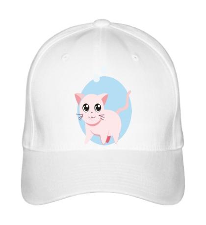 Бейсболка «Розовая кошка»