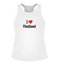 Мужская борцовка I love thailand