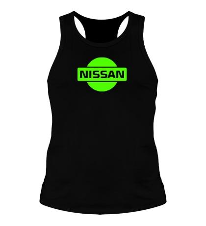 Мужская борцовка Nissan Logo Glow