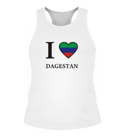 Мужская борцовка I love Dagestan