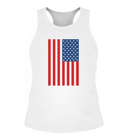 Мужская борцовка Американский флаг