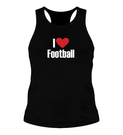 Мужская борцовка I love football