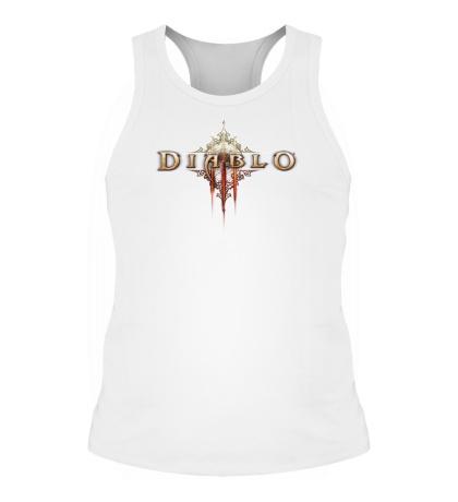 Мужская борцовка Diablo III Logo