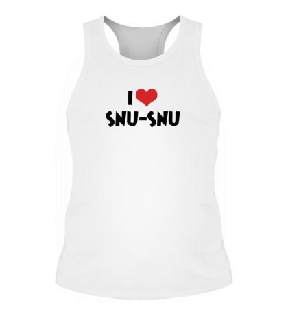 Мужская борцовка I love snu-snu