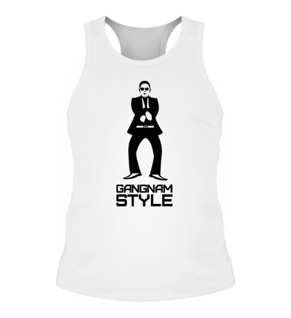 Мужская борцовка Gangnam style dancing