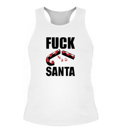Мужская борцовка Fuck Santa