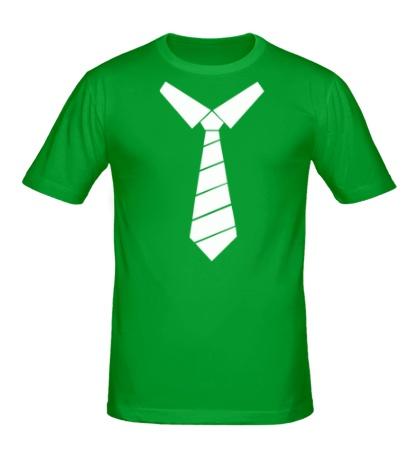 Мужская футболка Галстук