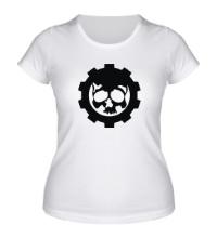 Женская футболка Gears of War Symbol
