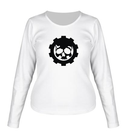 Женский лонгслив Gears of War Symbol