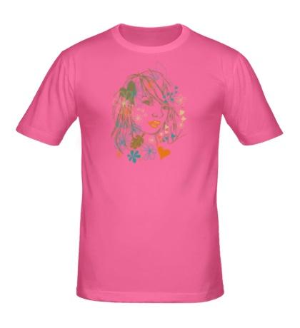 Мужская футболка Beauty Girl