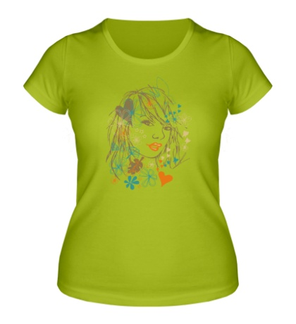 Женская футболка Beauty Girl