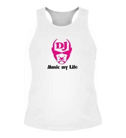 Мужская борцовка DJ, Music my life
