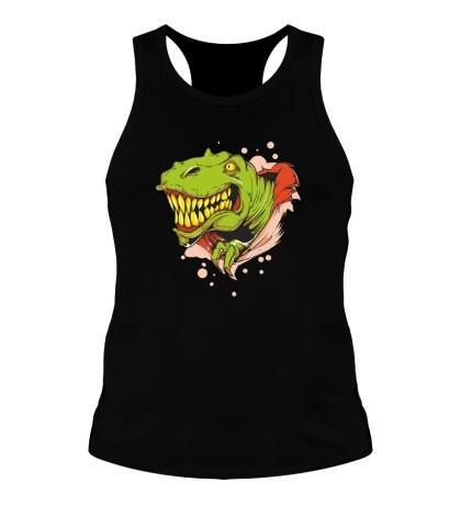 Мужская борцовка Голова тираннозавра