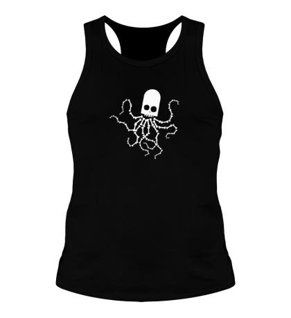 Мужская борцовка Скелет осьминога