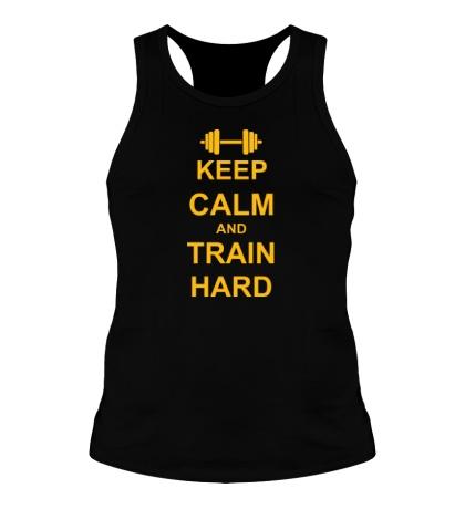 Мужская борцовка Keep calm and train hard