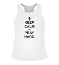 Мужская борцовка Keep Calm & Pray Hard