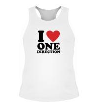 Мужская борцовка I love One Direction