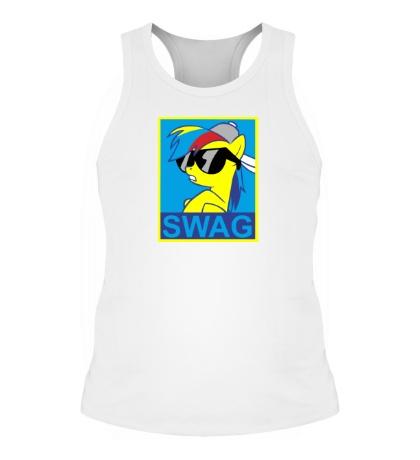 Мужская борцовка Rainbow Dash: SWAG Style