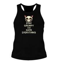 Мужская борцовка Stay Grumpy & Hate Everything