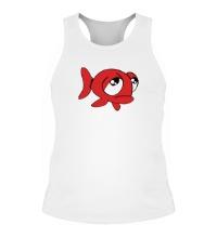 Мужская борцовка Грустная рыба