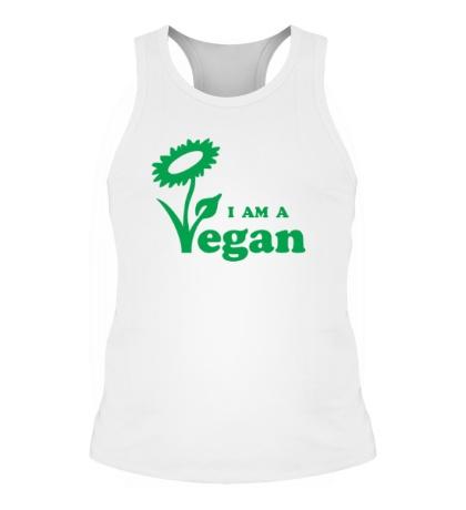Мужская борцовка I am a vegan