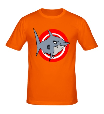 Мужская футболка Акула под прицелом