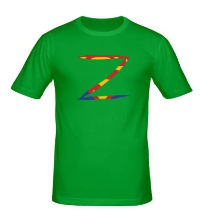 Мужская футболка Zorro Superman
