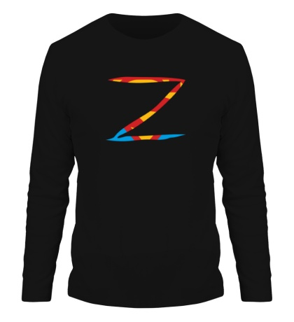 Мужской лонгслив Zorro Superman