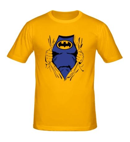 Мужская футболка Костюм Бэтмена