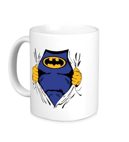 Керамическая кружка Костюм Бэтмена