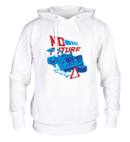 Толстовка с капюшоном No future