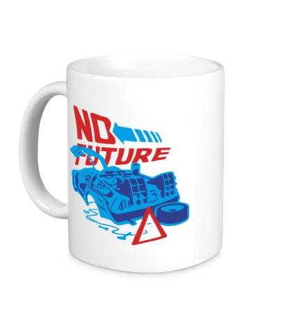 Керамическая кружка No future