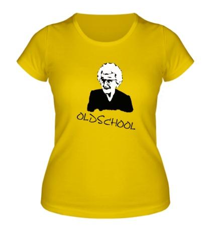 Женская футболка Old school